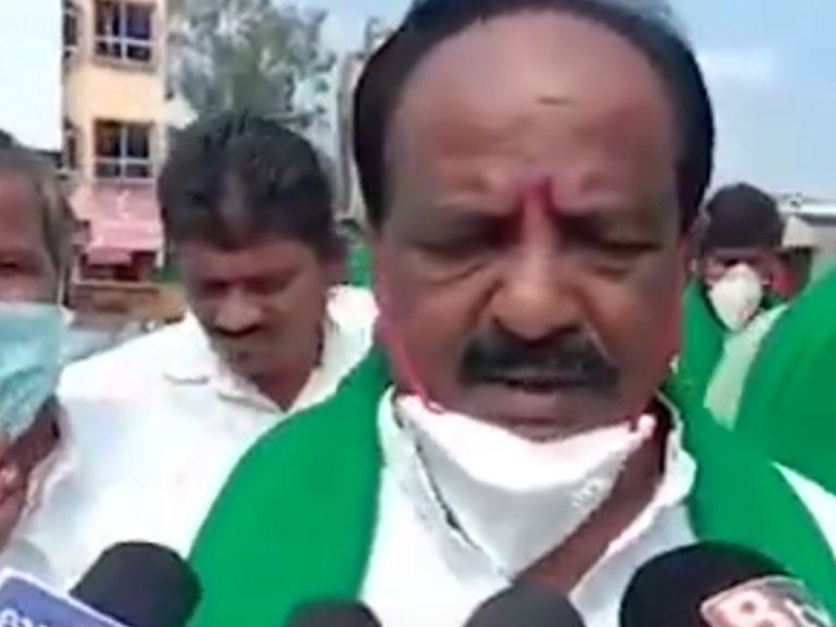 n.h.konaraddy hubballi protest